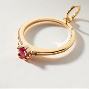 Anthropologie July Ring Charm